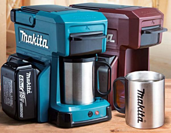 Makita DCM501Z akkus kávéfőző (akku és töltő nélkül) Makita