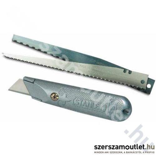 STANLEY fémházas kés, fűrész penge+1 trapéz penge (0-10-129)
