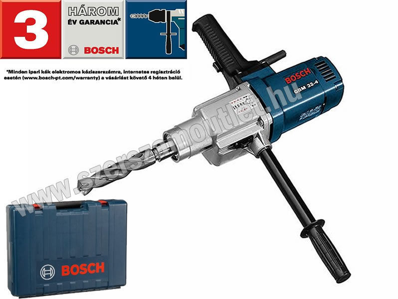 BOSCH GBM 32-4 fúrógép kofferben