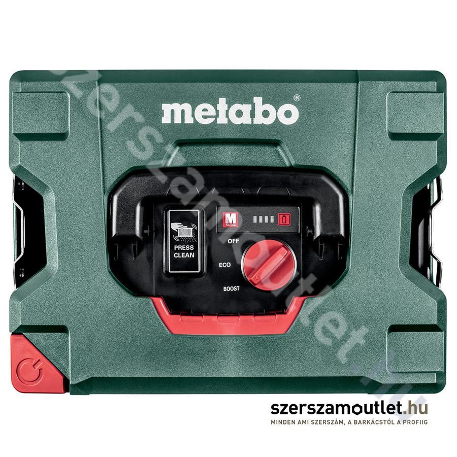 METABO AS 18 L PC Akkus porszívó (Akku és töltő nélkül!)