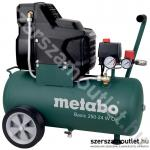 METABO BASIC 250-24 W OF Olajmentes kompresszor (1500W/24l) (601532000)