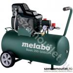 METABO BASIC 250-50 W OF Olajmentes kompresszor (1500W/50l) (601535000)
