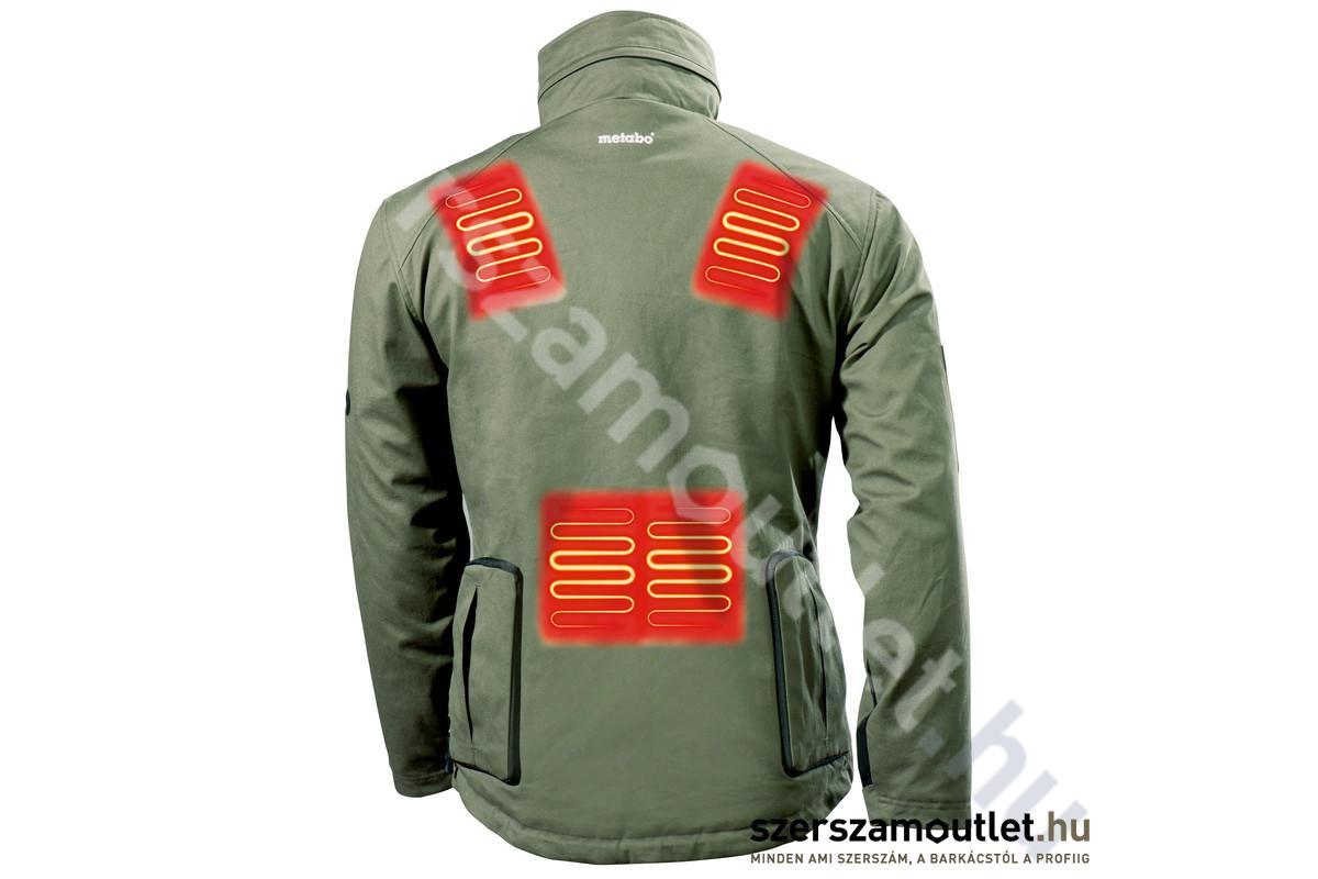 Metabo HJA 14,4 18 Fűthető kabát akku és töltő nélkül 657012000