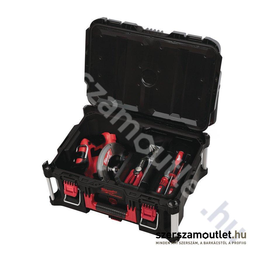 2e08c0b42cf4 MILWAUKEE PACKOUT 123 tároló láda szett, (4932464244) Szerszámosládák