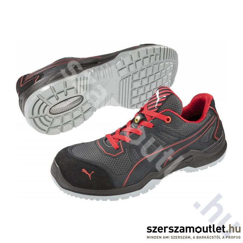 f56dd3ad9d58 PUMA Fuse TC Red S1P ESD SRC Védőcipő (PUM-644200) Védőlábbelik