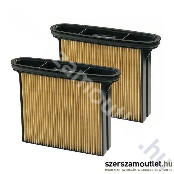 BOSCH Cellulóz Redős Szűrő GAS 50/50m Porszívóhoz (Száraz)(2db)