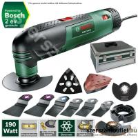 BOSCH PMF 190 E SET multigép Toolbox kofferben