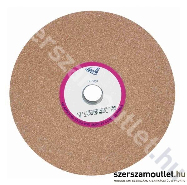 SPARK/COMET Csiszolókorong 125X16X12,7 21A60 PIROS