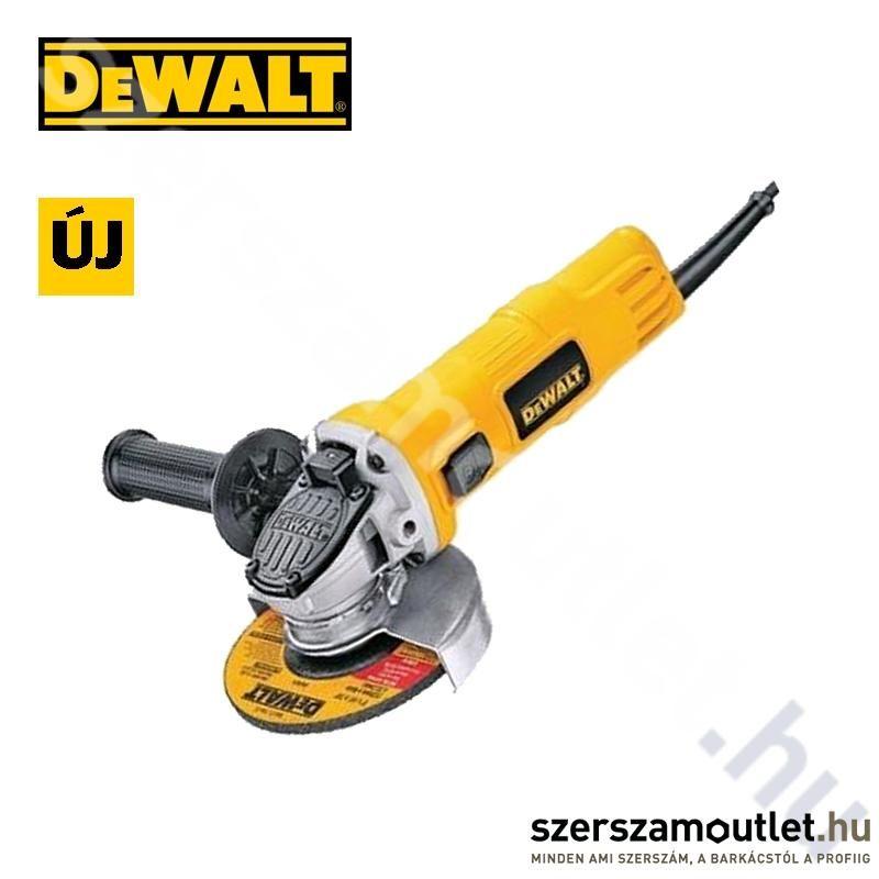 DEWALT dwe4150 Sarokcsiszoló (115mm)