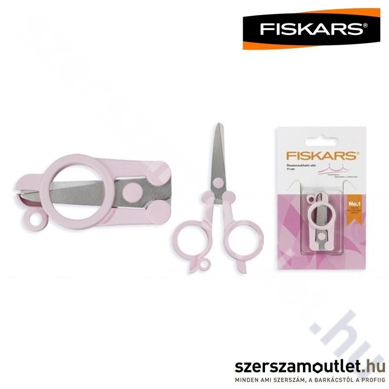 FISKARS Rózsaszín Összecsukható Olló (951265)