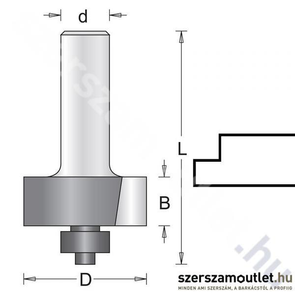 Hitachi Falcmaró Kés D:6/D:31,7/B:12,7/L:50mm (754025)