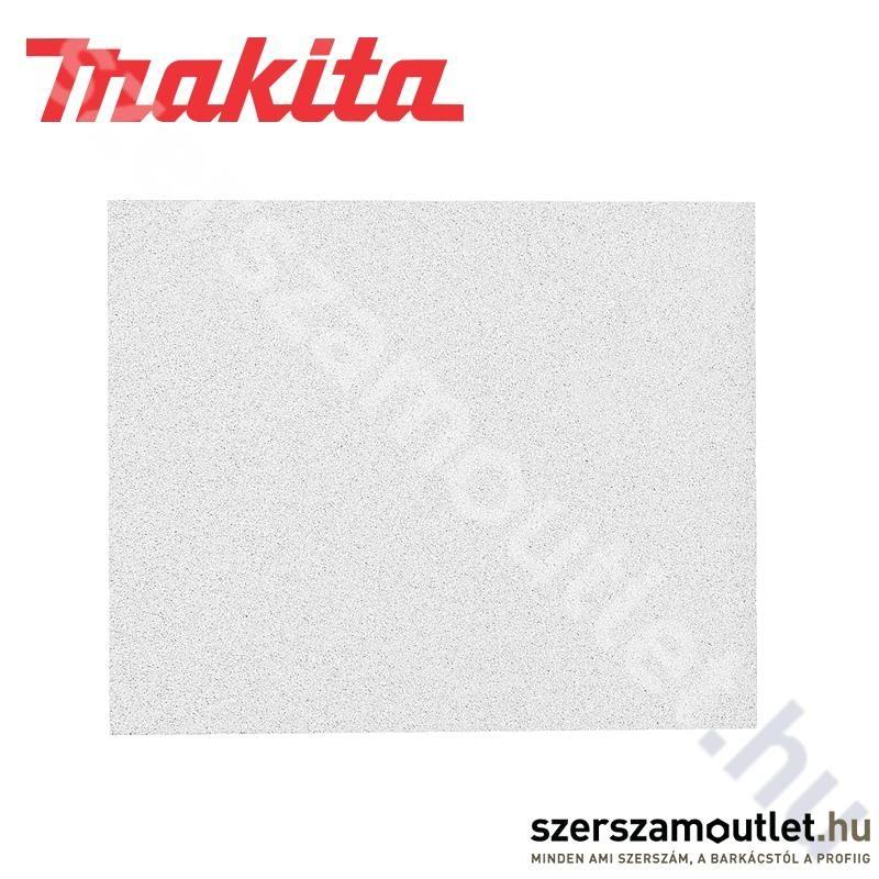 MAKITA Fehér csiszolópapír 114x140mm K120 /10db (P-36550)