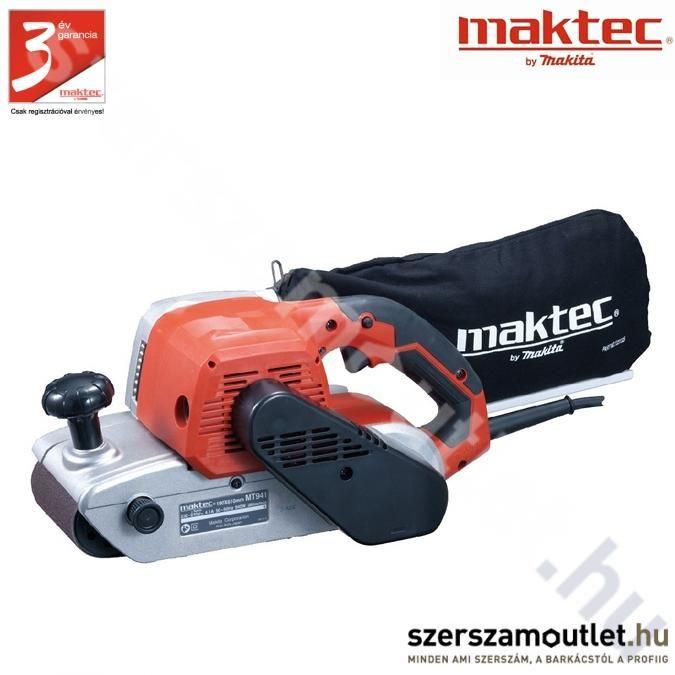 MAKTEC mt941 Szalagcsiszoló (940w/100X610Mm)