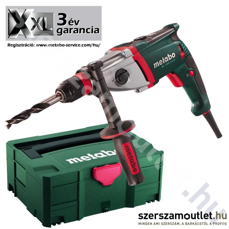 METABO BE 1300 Quick fúrógép MetaLoc-ban