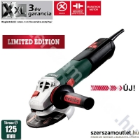 METABO W 12-125 Quick Sarokcsiszoló Limited Edition (1.250W/125mm)