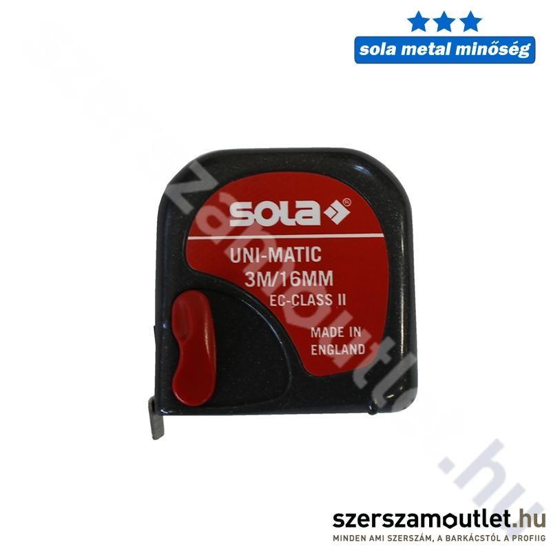 SOLA Uni-Matic Mérőszalag 2m UM (16mm)