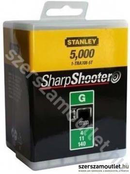 STANLEY Tűzőkapocs G típusú/6 mm/5000 db (1-TRA704-5T)
