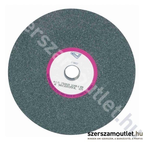 SPARK/COMET Csiszolókorong 125x20x20 90C60 SZÜRKE