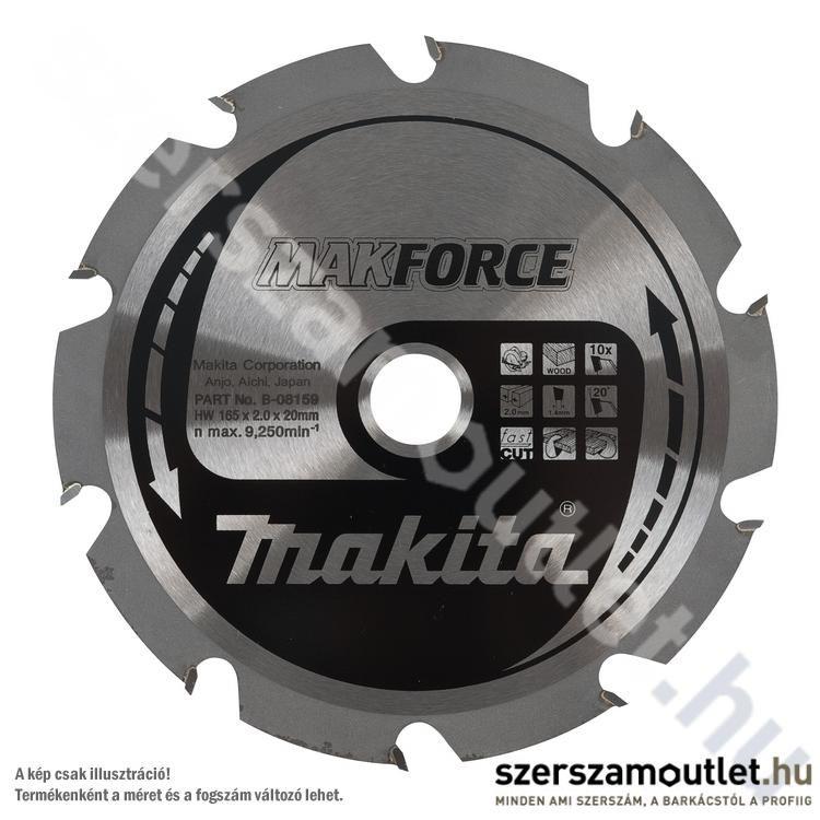 MAKITA MAKFORCE Körfűrésztárcsa durva vágására 230x30 mm Z18 (B-08246)