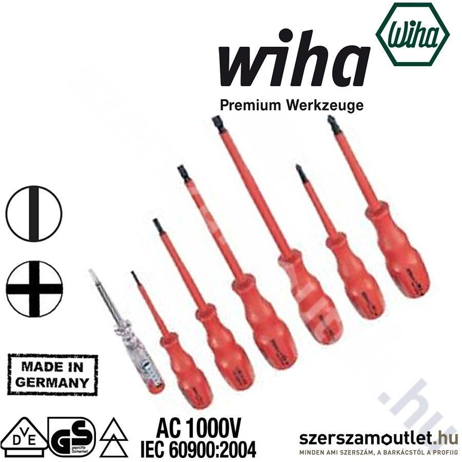 WIHA 470 k6 Csavarhúzó Készlet 6 Részes (1000v)