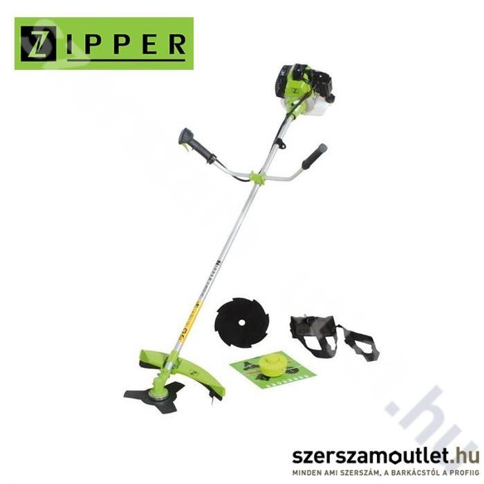 ZIPPER ZI-MOS145G Fűkasza damilfejjel és vágótárcsával